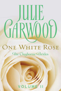One White Rose by Julie Garwoo