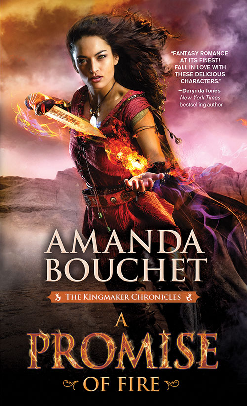 A Promise of Fire by Amanda Bouchet