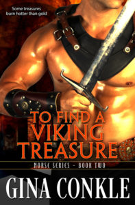 To Find a Viking Treasure by Gina Conkle