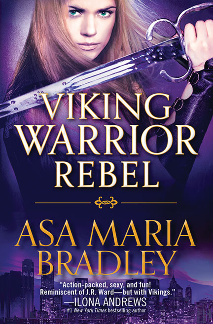 Viking Warrior Rebel by Asa Maria Bradley
