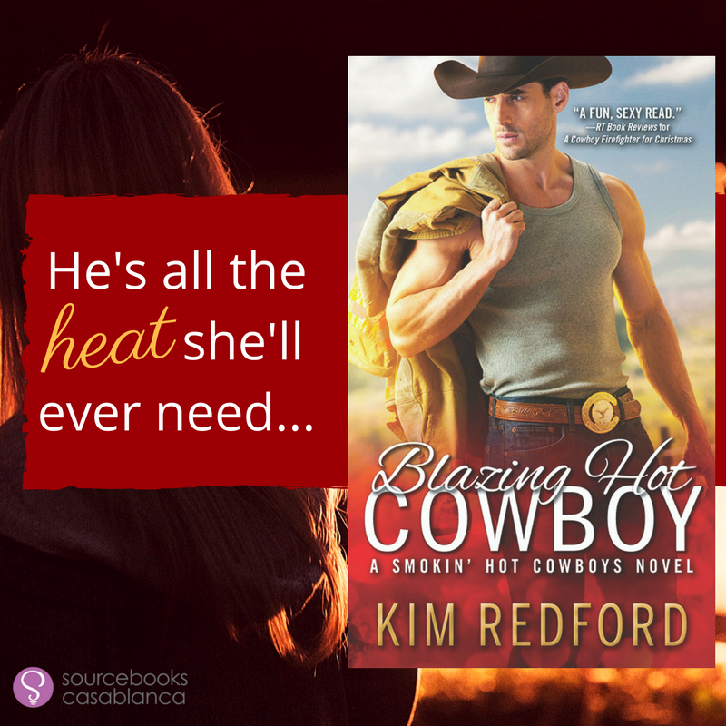 Kim Redford's Blazing Hot Cowboy