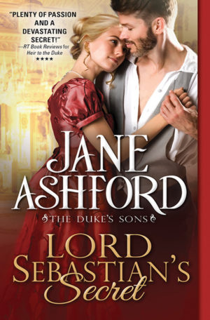 Lord Sebastians Secret by Jane Ashford