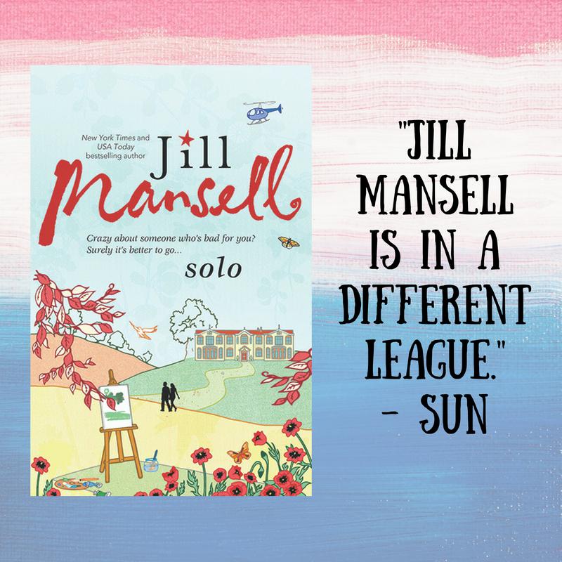 Jill Mansell's SOLO Spotlight & Giveaway