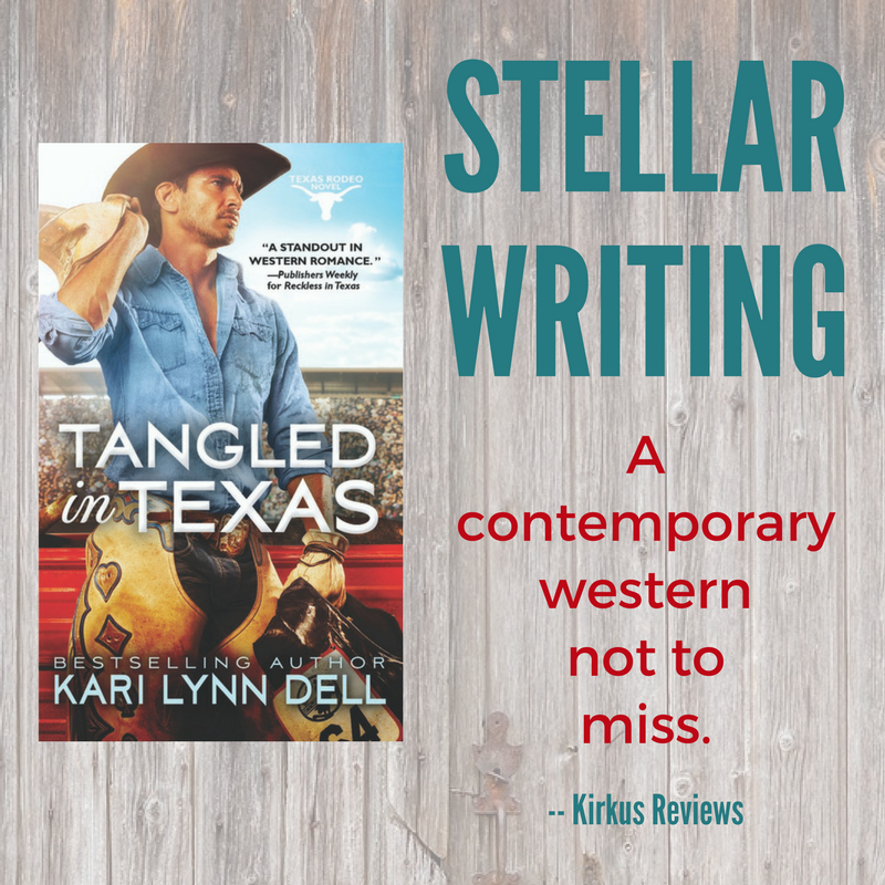 Tangled in Texas by Kari Lynn Dell: Spotlight & Giveaway