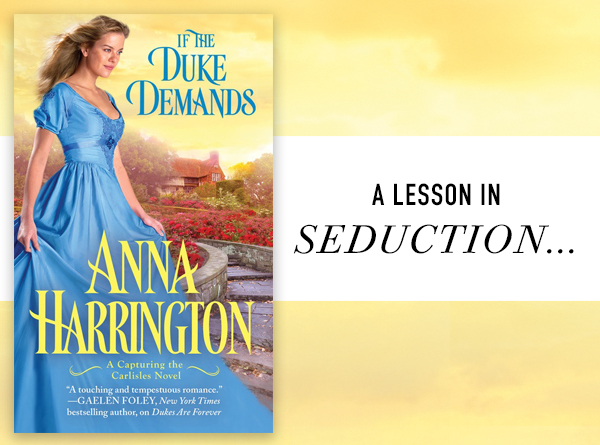Anna Harrington--If the Duke Demands Blitz & Giveaway
