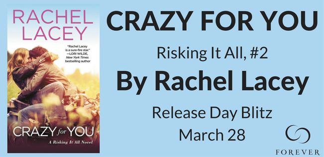 CRAZY FOR YOU by Rachel Lacey Banner