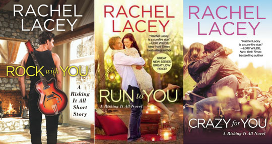 Risking It All series by Rachel Lacey