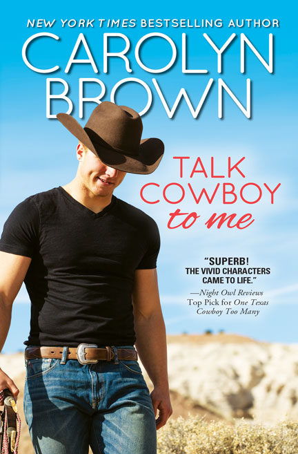 Talk Cowboy to Me by Carolyn Brown