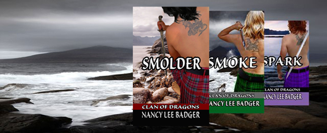 Nancy Lee Badger's SMOLDER & Giveaway