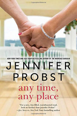 anytime-anyplace by Jennifer Probst