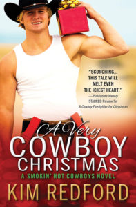 A Very Cowboy Christmas by Kim Redford
