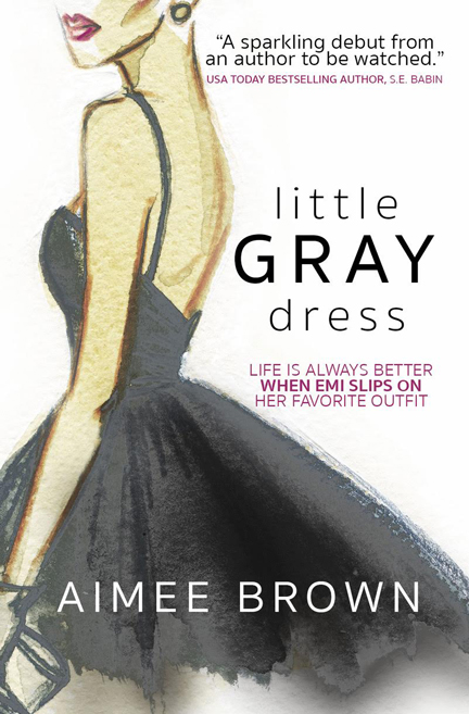 Little Gray Dress by Aimee Brown
