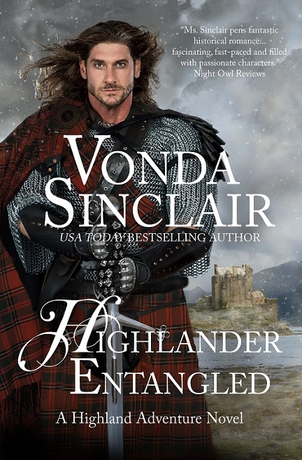 The Highlander Entangled by Vonda Sinclair