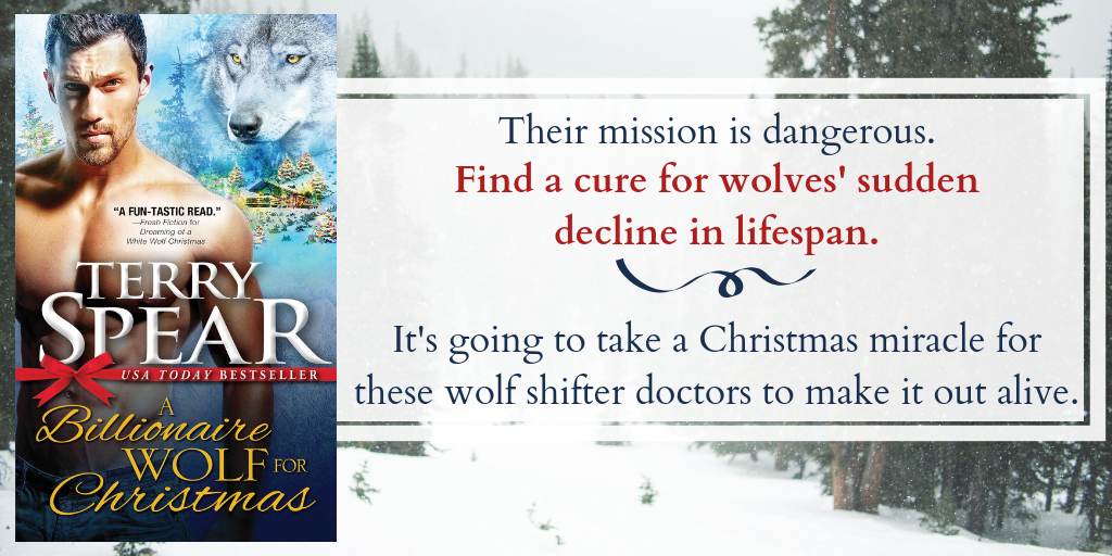 Billionaire Wolf For Christmas by Terry Spear