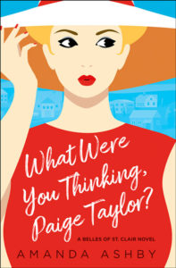 What Were You Thinking Paige Taylor by Amanda Ashby