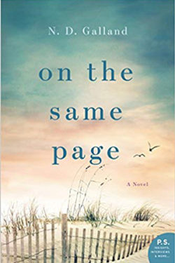 On the Same Page by ND Galland