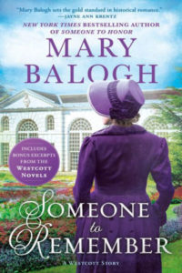 Someone to Remember by Mary Balogh