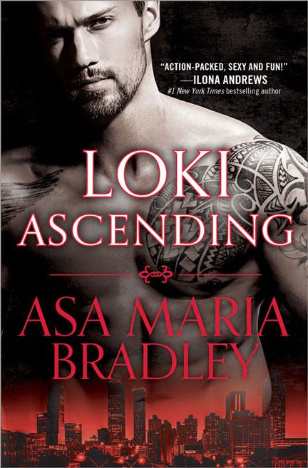 Loki Ascending by Asa Maria Bradley