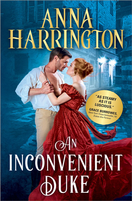 An Inconvenient Duke by Anna Harrington