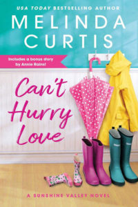 Can't Hurry Love by Melinda Curtis